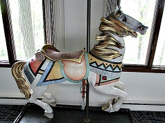 Antique Illions Carousel Horse