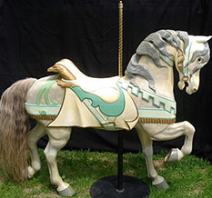 P A Lower Carousel Horse
